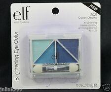Lot 10x New E.L.F. Elf Brightening Quad Eye Color/Eyeshadow-2021 Ocean Dreams