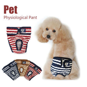 Female Male Pet Dog Physiological Pants Sanitary Nappy Diaper Shorts Underwear