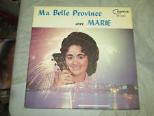 Marie King - Ma Belle Province 33 Rpm Record Vinyl Lp
