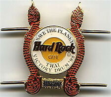 Hard Rock Cafe BANGKOK 1998 THAI VICTORY DRUM PIN - HRC Catalog #881