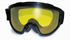 Padded Anti-Fog Motorcycle Goggles-Fit Over Prescription Glasses Fitover-Yellow