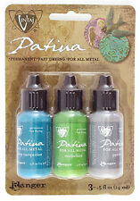 Patina Paint Metal Paint for Jewelry Vintaj Patina Santa Fe 2017 RELEASE 3 Pack