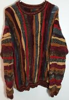 Vtg 80's/90's Multi-Color Cosby Coogi Styled Acrylic/Rayon L/S Sweater No Tag!
