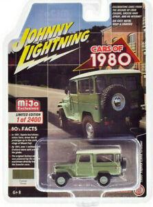 Johnny Lightning 1:64 scale 1980 TOYOTA FJ40 Land Cruiser hard top - Green