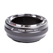 FOTGA Konica AR Lens to Sony E-Moun Adapter For NEX-3 NEX-5 NEX-7 NEX-VG20 A7II
