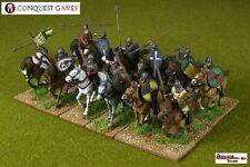 28mm Norman Knights, 15 Conquest Games Plastics, Swordpoint, Dark Ages, Saga