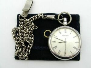 Seiko Cal. 5740 Vintage Pocket Watch Hi-Beat 23 Jewels 1960'S from Japan F/S