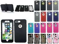 For iPhone 7 / 8 PLUS Heavy Duty Defender Case w/ Screen & Clip Fit Otterbox