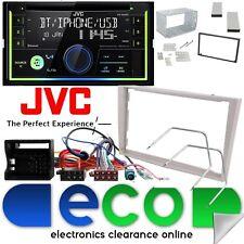 Vauxhall Astra H JVC CD MP3 USB BLUETOOTH Car Stereo Beige Fascia Fitting Kit