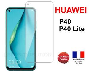 Verre trempé Huawei P40 Huawei P40 Lite vitre film protection écran