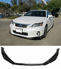 Carbon Fiber Front Bumper Lip Spoiler Bodykit for 2011-2013 Lexus CT200h