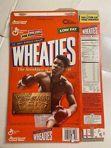 Wheaties Cereal Box 12 oz. Muhammad Ali Boxing