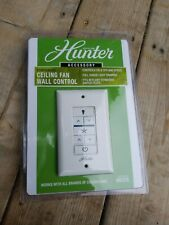 Hunter 99375 Universal Wall Control Ceiling Fan Speed & Dimmer Wall Control New
