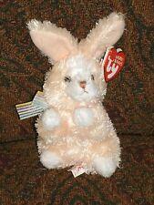 "Ty Basket 4"" TOPSY Creme & white Rabbit (EASTER BASKET BEANIES) - MWMT - VHTF"