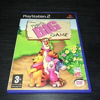 PLAYSTATION 2 PS2 KIDS VIDEO GAME DISNEY's PIGLET'S BIG GAME BOXED COMPLETE PAL