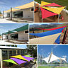 Outdoor Triangle Sun Shade Sail Patio Canopy Garden Yard Pool UV Block Cover M