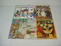Lot of 8 Assorted Craft Magazines 1980 to 2001