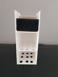 Media basket for fluval flex 123L 3d printed