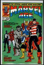 Marvel Comics MARVEL AGE #57 Captain America VFN 8.0