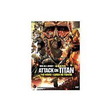 DVD Attack On Titan The Movie 1 : Guren no Yumiya + Free GIft
