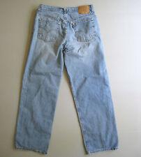 Vtg 90s LEVIs 565 Wide Leg Jeans Womens 11 Jr (32x31) Grunge Skater
