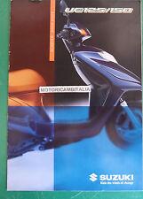 SUZUKI MOTO SCOOTER UE125 UE150  DEPLIANT BROCHURE  RECLAME