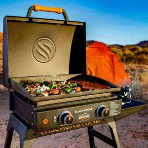 Adventure Ready 22-in Portable Griddle With Stand And Bulk Adapter Hose
