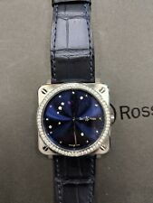 Bell And Ross Br S Blue Diamond Eagle new no reserve!