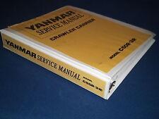 YANMAR C50R-3R CRAWLER CARRIER EXCAVATOR SERVICE SHOP REPAIR MANUAL BOOK