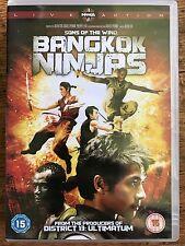 SONS OF THE WIND: BANGKOK NINJAS ~ 2004 Japanese Action Film | UK DVD