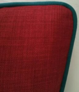 Emma J Shipley AMAZON RED VELVET Cushion Cover 41cm x 41cm