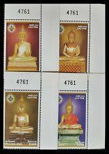 107. LAOS 2003 SET/4 STAMP BUDDHA . MNH