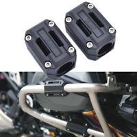 2x Universal Motorrad Motorrahmen-Schutz Sturzpads 22/25/28mm für BMW R1200GS LC