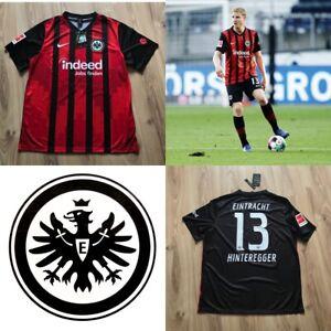 Eintracht Frankfurt Fan Home Trikot HINTEREGGER #13 NIKE XL Jersey 20/21 Neu