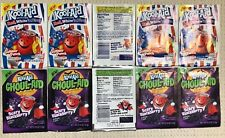Kool-Aid 10 Drink Mix Rare Gluten Free Expired 2 Flavors x 5 Collectible