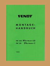 Fendt Farmer 2, Farmer 2 D Werkstatthandbuch Reparaturanleitung Schlepper