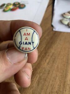 Vintage San Francisco Giants Pin