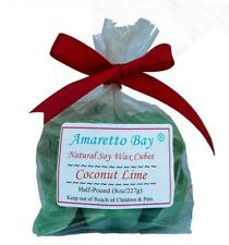 Coconut Lime Scented Soy Wax Melts - Half-Pound - Wax Chunks- 200 Hrs