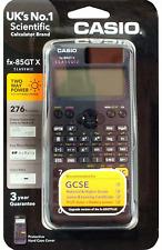 Casio FX-85GTX  Scientific Calculator 276 Functions GCSE  & Higher Grade - BLACK