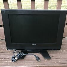 """Toshiba 19HLV87 19"""" LCD Color HDTV Built-in DVD Player Combo No Remote Included"""