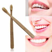 Superfine Medium Bristle Friendly Bambus Zahnbürste Mundpflege Tooth Care^ A0S3