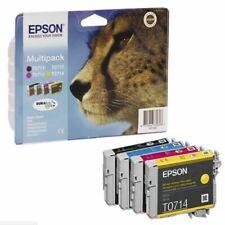 EPSON Original Tintenpatrone mehrfarbig (C13T07154012)