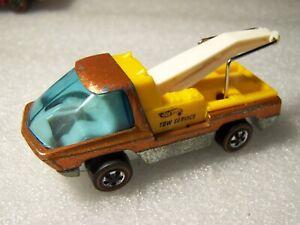 "hot wheels redline""THE HEAVYWEIGHTS""TOW TRUCK ORANGE!!!!!!,LOOK!!1969"