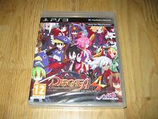 PS3 - Disgaea 4 - Pal Uk - Nuevo y Precintado - Playstation 3 RPG