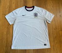 Nike Dri-Fit England National Team 150th Anniversary Jersey Mens XXL Rare Futbol