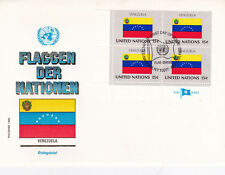 1980 United Nations Flags of the Nations Venezuela FDC Unadressed VGC