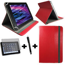 3er Set 10.1 zoll Tablet Tasche - Asus Transformer Pad TF101 - 3in1 Rot 10