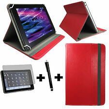 3er Set 7,9 zoll Tablet Tasche -  Acer Iconia A1 811 Hülle Etui - 3in1 Rot
