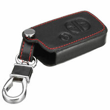 Leather Case Cover Holder For Toyota Prado Crown Reiz Remote Smart Key 3 Buttons