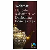 Waitrose darjeeling leaf tea